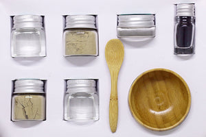 Mix and Get Messy Clay Face Mask Pack - Australian Olive Green Clay