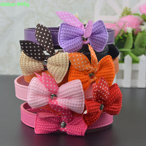 Small Dog Collar Pet Necklace with Butterfly Knot - Buy 1, Get 1 FREE! - FUNKYDOGGIE