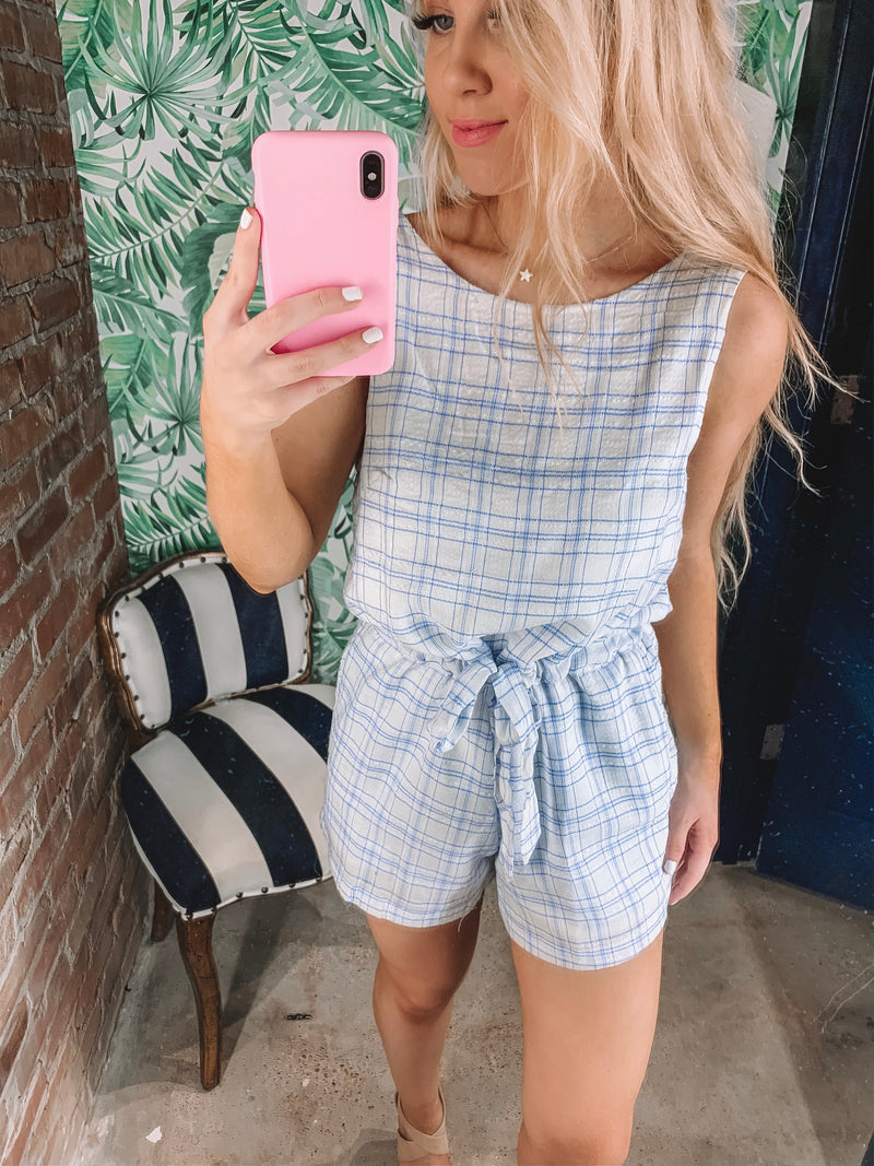 Supreme Check Romper