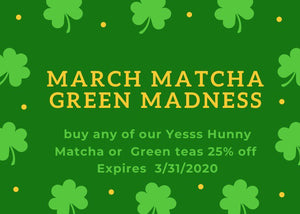 March Matcha Green MADNESS!