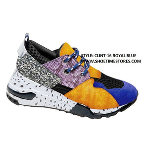 CLINT-16 Women's Lace Up Sneaker's Shoes