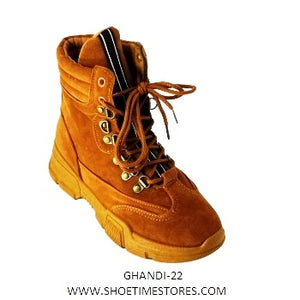 GHANDI-22 Women's Lace Up Boots