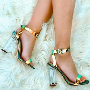 MERCY - Flexible Ankle High Heel Sandals