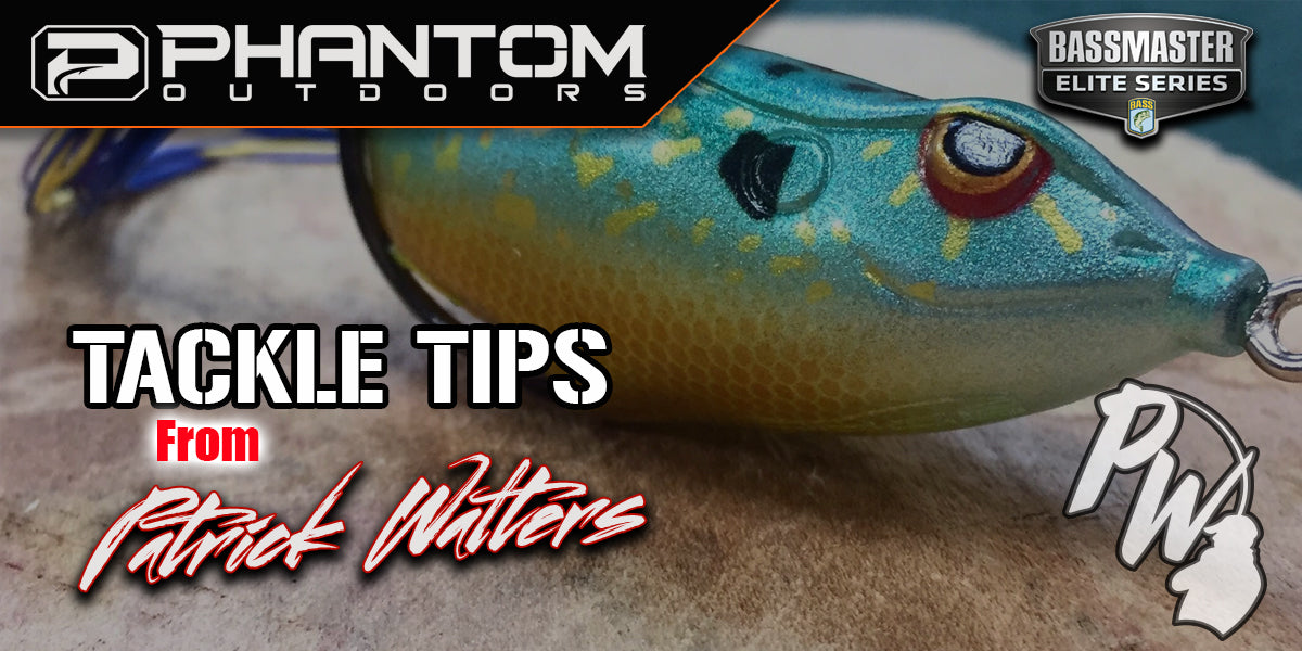TOURNAMENT GRADE TIPS AND TRICKS : PATRICK WALTERS FROG STORAGE TIPS