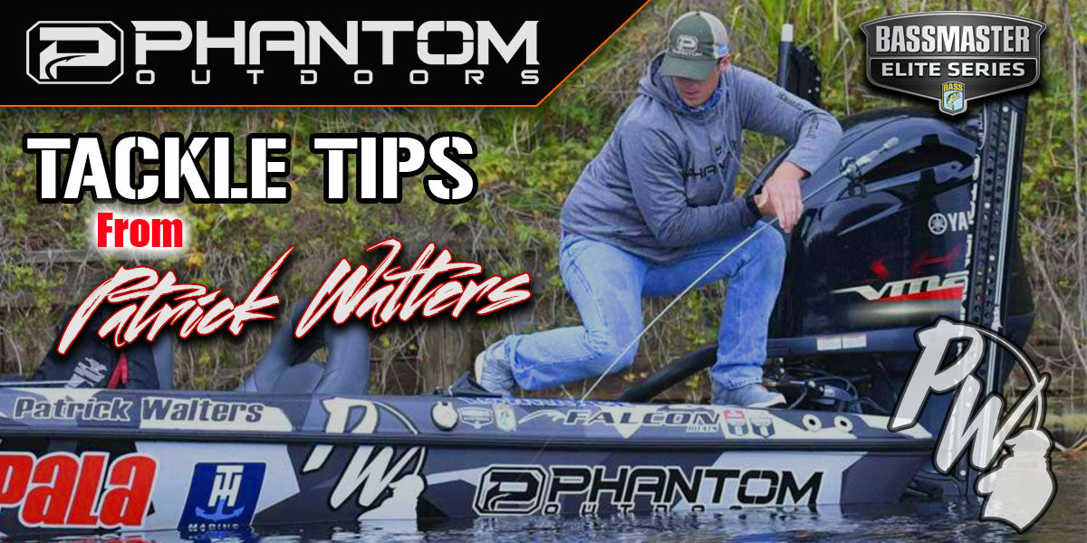 TOURNAMENT GRADE TIPS AND TRICKS: A CAROLINA RIG TIP FROM PATRICK WALTERS
