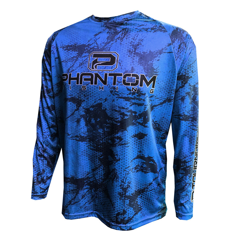 Phantom Camo Performance Fishing Shirt
