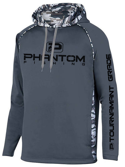 Phantom Fishing Performance Camo Hoodie