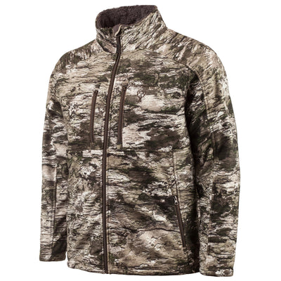 HUNTWORTH MEN'S HEAVYWEIGHT SOFTSHELL JACKET - TARNEN