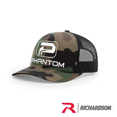Richardson Camo Structured Trucker Hats