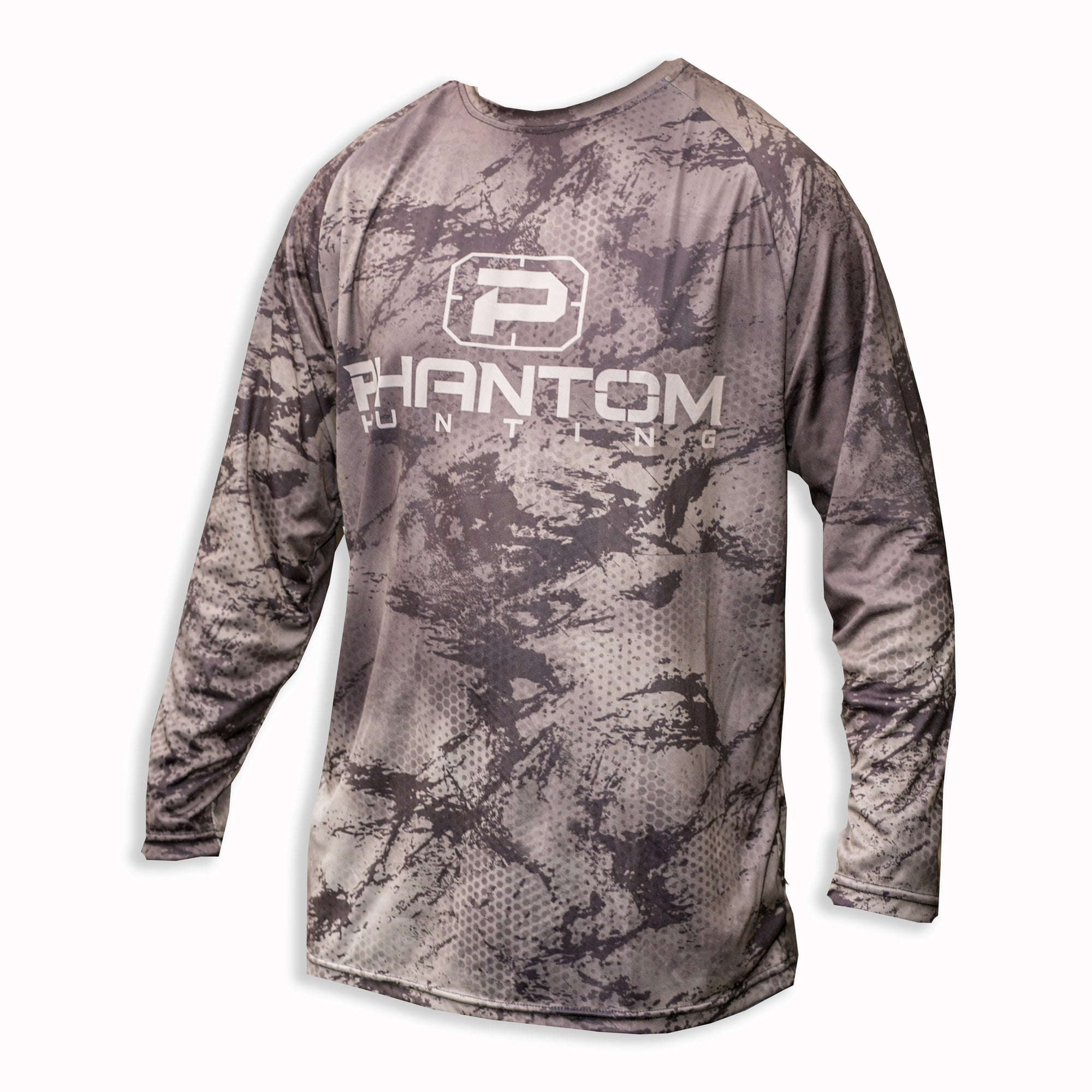 Phantom EDGE SERIES Camo Long-Sleeve Performance Shirt