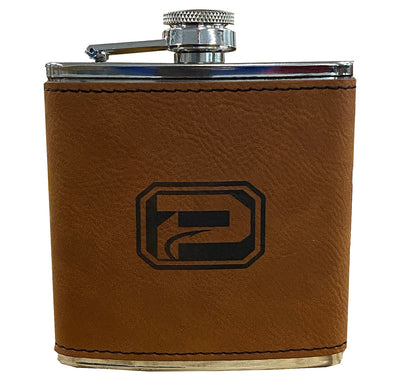 PHANTOM OUTDOORS LEATHER FLASK