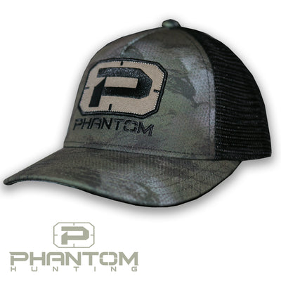 Phantom EDGE SERIES Camo Structured Trucker Hat