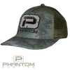 Phantom EDGE SERIES Camo Unstructured Trucker Hat