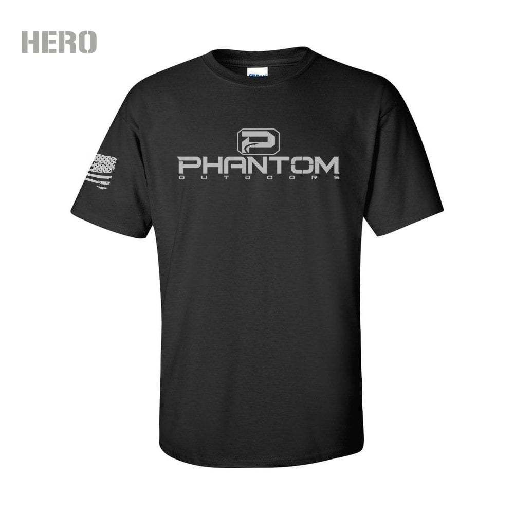 Phantom Hero Tee Black