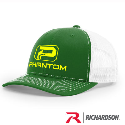 Richardson White Mesh Structured Trucker Hats