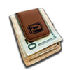 Phantom Outdoors Leather Money Clip