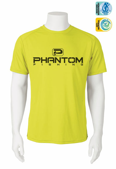 Phantom Fishing Performance Short Sleeve Shirt - Neon Series