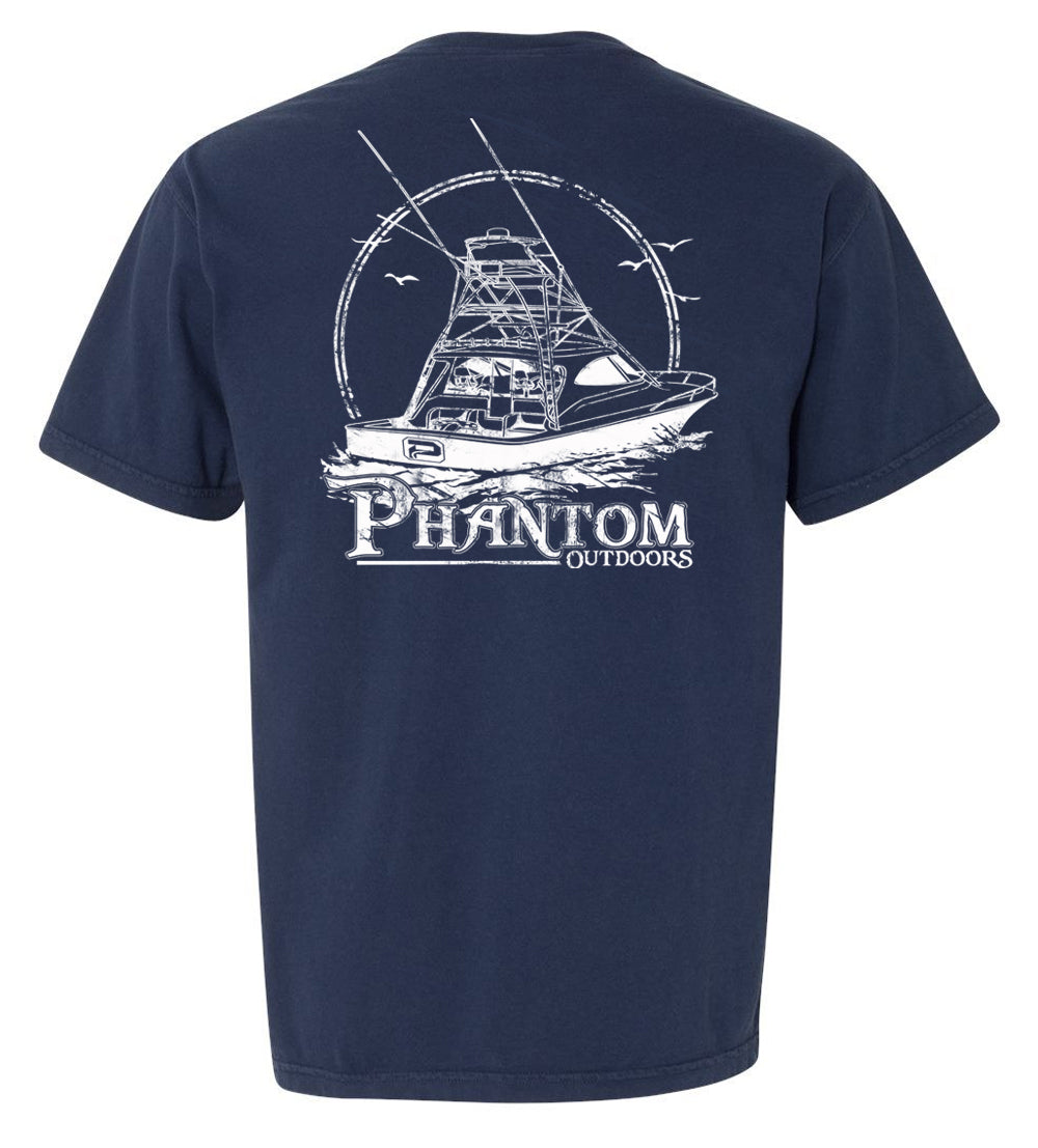 "Phantom Outdoors ""Trolling"" Lifestyle Pocket Tee"