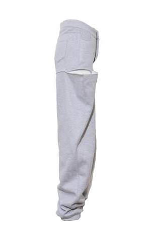 BOY SHORT SWEATS GREY