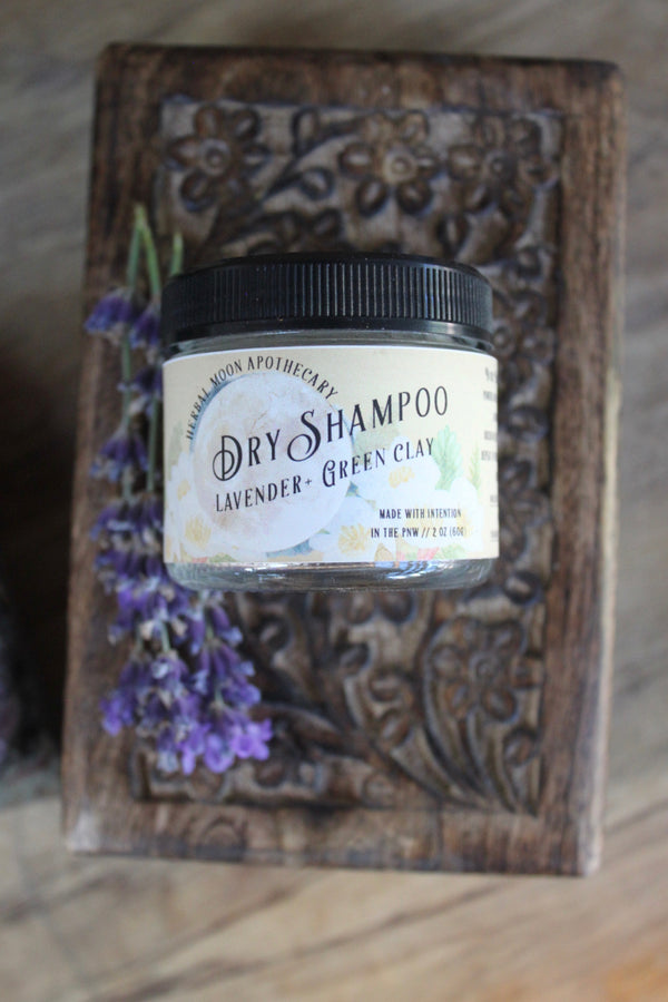 Dry Shampoo Powder • for light hair