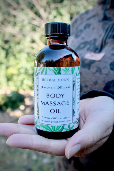 CBD Massage Oil • 500mg