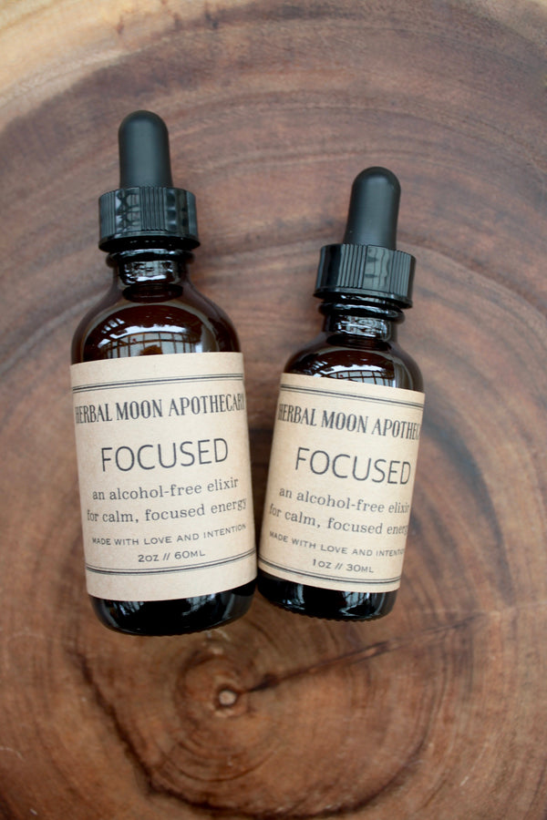 Focused ACV Tincture • alcohol-free + vegan