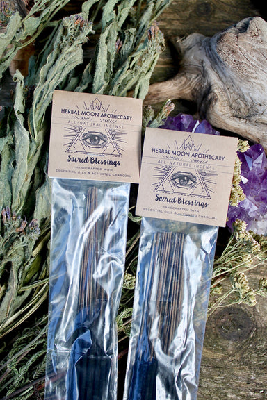 Sacred Blessings • natural incense sticks