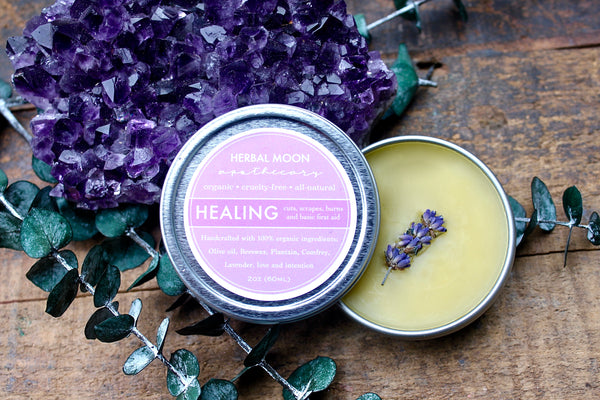 Healing Salve • all purpose + essential oil free