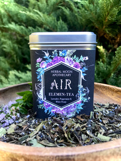 AIR Elemen-Tea • organic peppermint-lavender blend