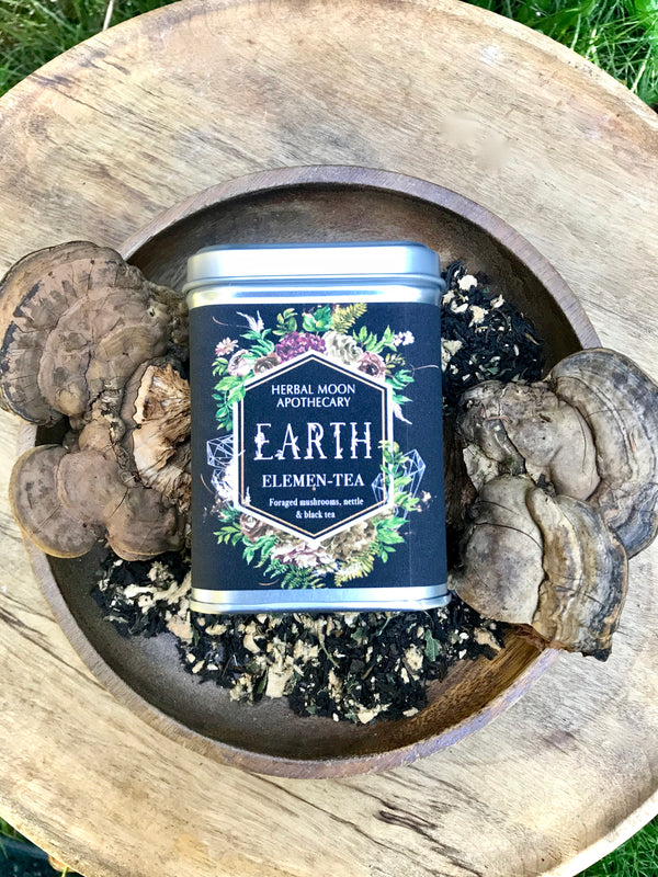 EARTH Elemen-Tea: organic mushroom and forest tea