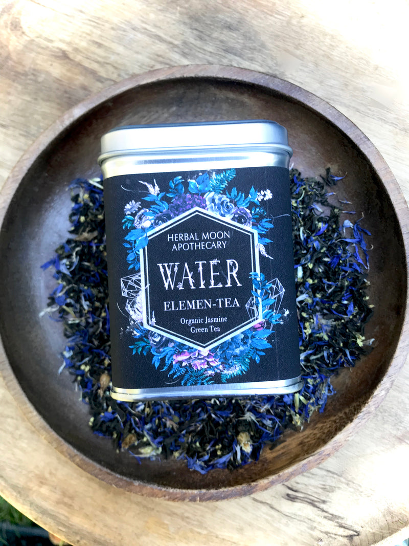 WATER Elemen-Tea: organic jasmine green tea blend