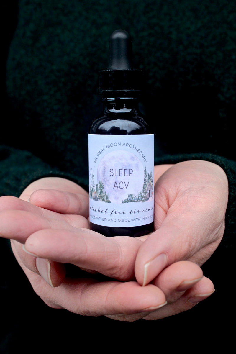 Sleep ACV tincture • alcohol-free + vegan