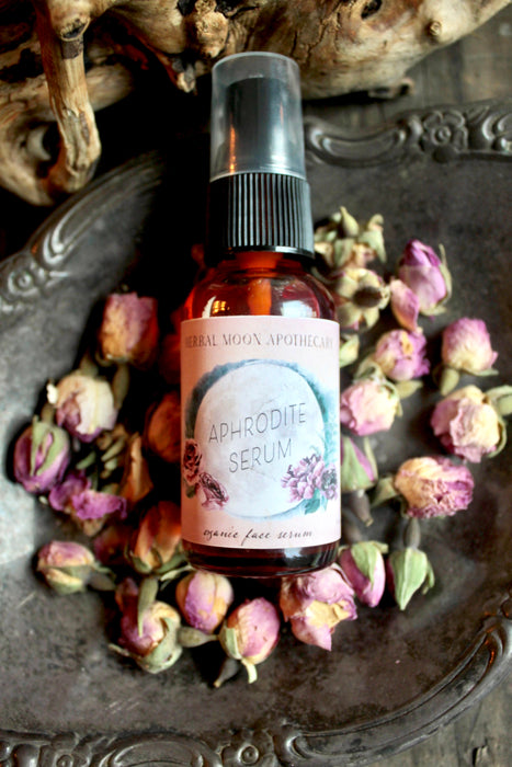 Aphrodite Face Serum • organic + crystal infused