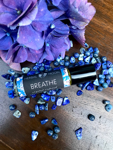 BREATHE • Crystal Infused Aromatherapy Blend