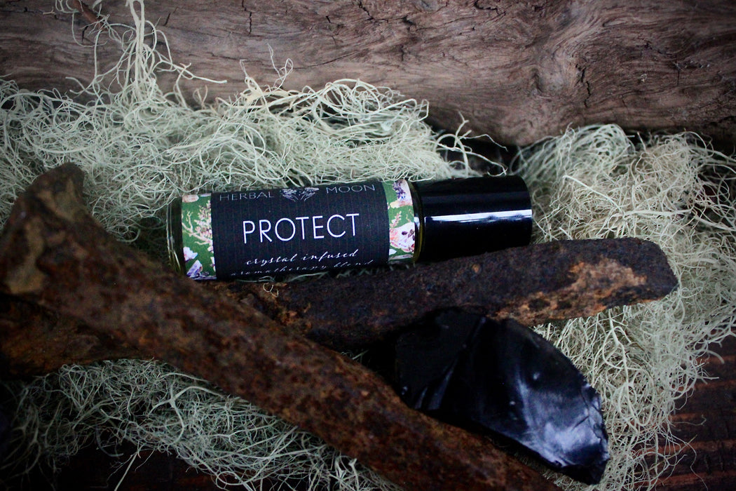 PROTECT • Crystal Infused Aromatherapy Blend