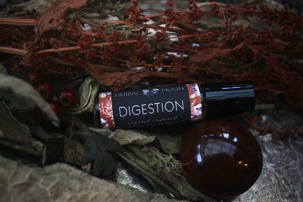 DIGESTION • Crystal Infused Aromatherapy Blend