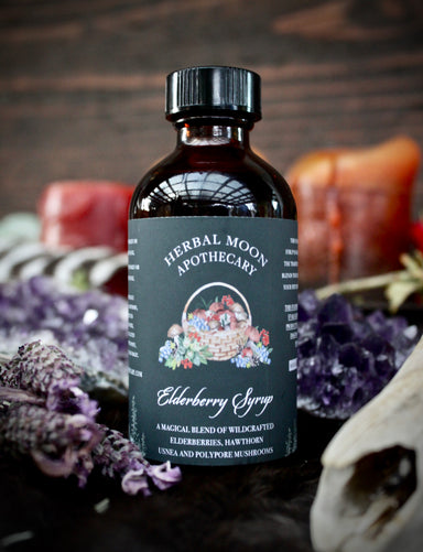 Elderberry Syrup • 100% Wildcrafted
