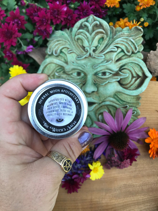 Witch's Salve • dreaming, divination and third eye support