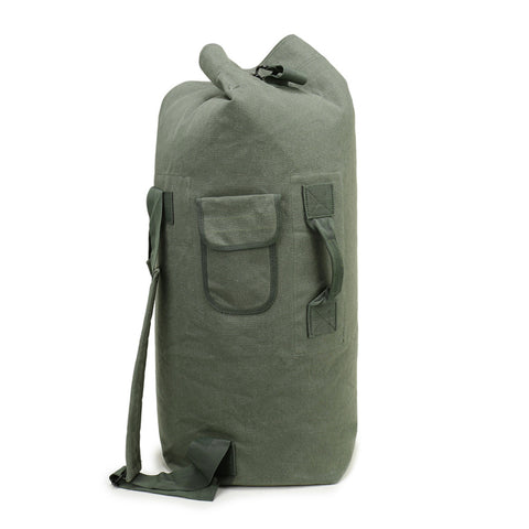 Outdoor Gear Travel Luggage Army Bag Canvas Hiking Backpack Camping Tactical Rucksack Men Military Backpack mochila
