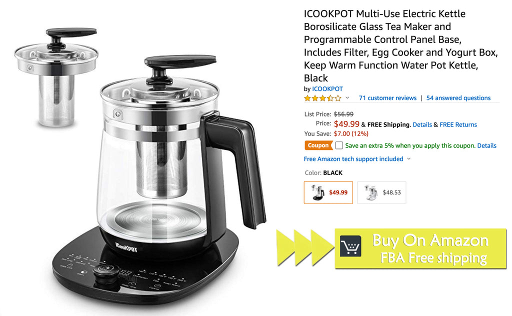 ICOOKPOT Multi-Use Electric Kettle