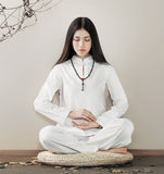 Womens Tai Chi Uniform Zen Meditation Suit
