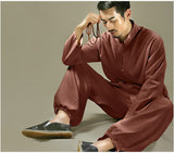 Mens Tai Chi Cotton Clothing Set