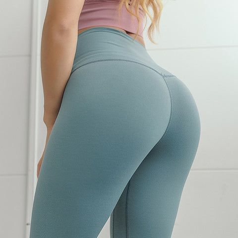 High Waist Fitness Woman Gym Leggins - MISSTLY