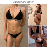 Bikinx High cut micro bikini new bathing suit Sexy female swimsuit separate Push up triangle swimwear women bathers biquini - MISSTLY