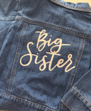 Unisex Girls and Boys Denim Jacket - Personalised