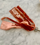 Easter Bunnys Magic Key - Terracotta + Silver