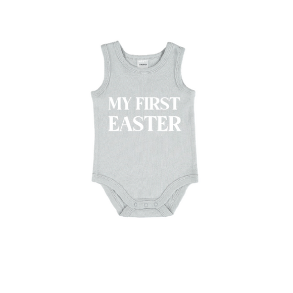 Easter Bodysuit in Dusty Blue