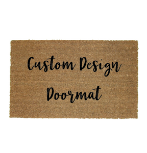 Signature Font - Custom Design Door Mat