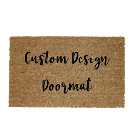 Custom Design Door Mat