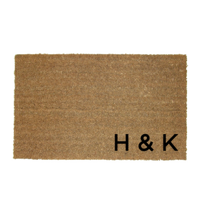 Initial Doormat Personalised